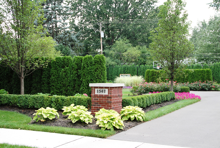 Exterior design project birmingham michiganpellegata for Landscape design michigan