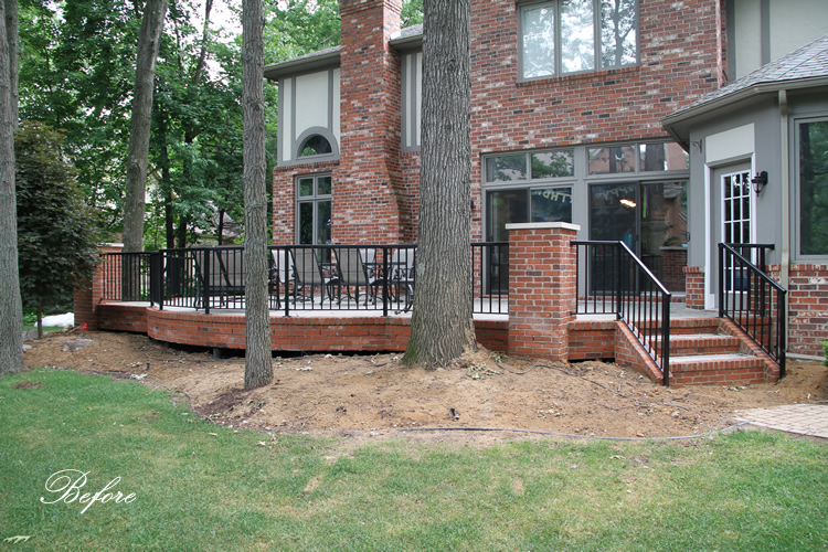 Masonry Raised Patio In West Bloomfield Archives   Pellegata Landscape  DesignPellegata Landscape Design
