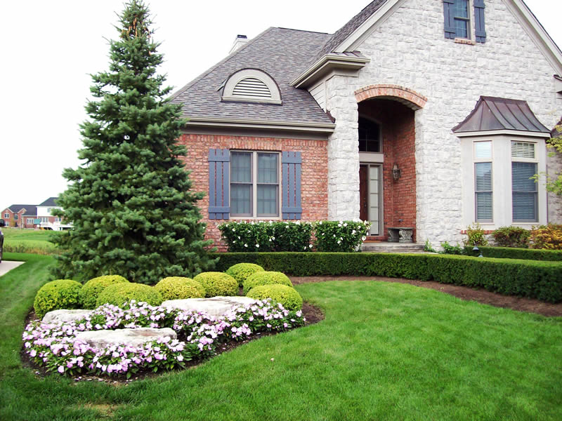 Landscape design northville michiganpellegata landscape for Landscape design michigan