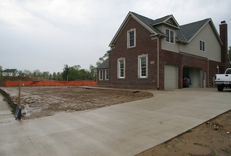 New Construction in Northville, Michigan