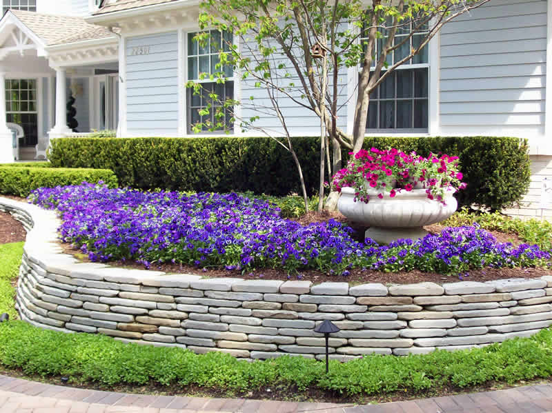 Retaining Wall in Oakland County